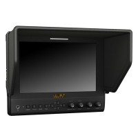 "400Cd HD PFV Monitor Lilliput 7"" IPS LCD Monitor (663/O/P) HDMI 1080p IPS Peaking Focus Canon 5D II III"