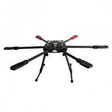 SAGA FA800 800mm Carbon Fiber Folding Hexacopter Multicopter Frame & Landing Gear- Similar