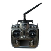 Walkera DEVO 8s 8 Ch 2.4Ghz Telemetry Function RC System Transmitter Remote Controller w RX802 Receiver