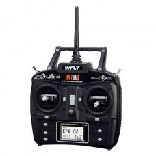 Wfly WFT06II 2.4GHz 6 Channel DSSS Radio Transmitter Receiver w/ LCD Display TX + WFR06S 2.4G Receiver