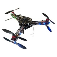 Feiyu-Y6 Scorpion Tricopter ARF Multicopter Glass Fiber Aircraft Frame Kit+Motor&ESC Combo