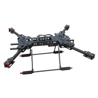 XC600 H-shape Carbon Fiber Folding Quadcopter Frame for FPV Aerial Photography Multicopter