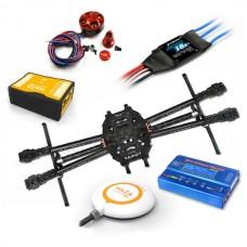 Tarot 650 FPV Quadcopter ARF Kit +Naza V2 Flight Controller +Sunnysky 3508 Motor /Hobbywing ESC+WFT07 Remote Controller