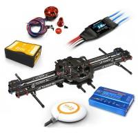 Tarot FY680 FPV Quadcopter ARF Kit +Naza V2 Flight Controller +3508 KV580 Motor /Hobbywing ESC+WFT07 Remote Controller