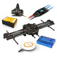Tarot FY680 FPV Quadcopter ARF Kit +Naza V2 Flight Controller +HL W4822 Motor /Hobbywing ESC+WFT07 Remote Controller