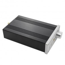 Topping D3 24Bit 192kHz USB Optical Coaxial BNC DAC Headphone Amp Amplifier Silver
