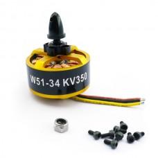 Hengli W5134-350 350KV High Power Disk Type Brushless Motor 6S 3KG for Multi-rotor Copter