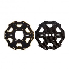 Carbon Fiber Center Adapter Board Set for Tarot 680PRO Folding Hexacopter TL68P01