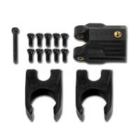 Tarot 16MM Tube Folding Positioning Holder TL68B27 Carbon Fiber Black