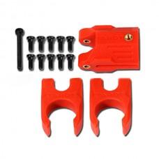 Tarot 16MM Tube Folding Positioning Holder TL68B28 Carbon Fiber Orange