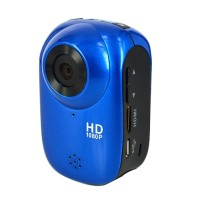 HD1080P 12M Outdoor Sport Helmet Action Waterproof Mini DV Car Camera Cam SJ1000-Blue