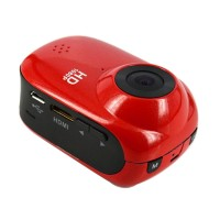 HD1080P 12M Outdoor Sport Helmet Action Waterproof Mini DV Car Camera Cam SJ1000-Red