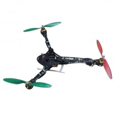 HLG Dragonfly Y3 Tricopter Y6 Hexacopter Y4 DIY Folding Glass Fiber + XXD Motor & Skywalker 30 ESC Prop ARF Set