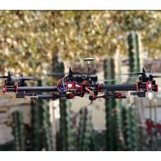 Logo-S800 FPV 20mm Carbon Fiber Hexacopter Folding Multirotor Aircraft Frame Kit