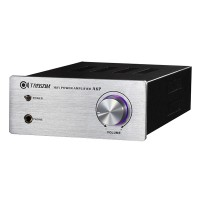 TRASAM A6P Mini HiFi Integrated/Headphone Amplifier Brand New Built in Transformer-silver Panel