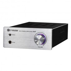 TRASAM A6P Mini HiFi Integrated/Headphone Amplifier Brand New Built in Transformer-silver Panel