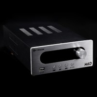 Trasam M6D USB Decoder High Power Home 2.0 Hifi Amplifier Amp with FM Radio Function-Silver Panel