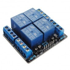 5V 4-Channel Relay Module Switch Board For Arduino PIC ARM AVR DSP PLC