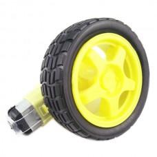 3-12V TT motor + 1:48 High Quality Tyre Wheel for DIY Robot Car