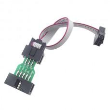 ISP Downloader Converter 10p-6p Aruino Bootloader 6P Port