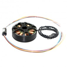 iPower Gimbal Brushless Motor GBM5208H-180T Hollow Shaft w/Slip Ring for 600-1500g Gimbal FPV