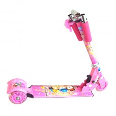 Kids Rocket 78mm Street Scooter Ride on Stunt Pink Chrisrmas Birthday Gift for Children