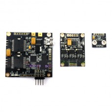 BGC Universal 3-axis/ 3-axle Brushless Gimbal Controller w/ 40A 3rd axis Expansion Baord(Firmware upgradeable)