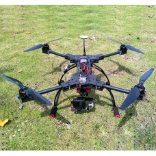 F550 Carbon Fiber FPV Alien Quadrocopter FPV Folding Frame - DJI BlackSnapper Style Multicopter