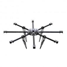 Professional FPV 22mm Carbon Fiber Octacopter Heavy Loading Multicopter Frame Set Kit 850-1050mm