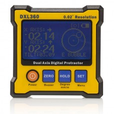 DXL360 Digital Protractor Inclinometer Angle Finder 5 side Magnet