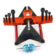 Multifunction Carbon Fiber Magnetic Propeller Balancer Prop 2-5MM FPV 250-700 Helicopter Multicopter
