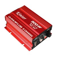 Kinter MA-150 500W Amplifier Digital Stereo Amplifier For Car Motorcycle & Boat