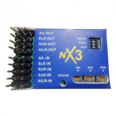 NX3 Flight Controller 3D Flight Gyroscope Balance For Fixed-wing Aircraft Airplane
