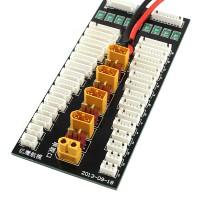 Simple Version XT60 Plug Lipo Battery Parallel Charging Charger Plate PL8 PL6