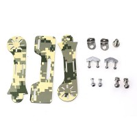 "Green Camouflage DJI/Futaba/JR/WFLY/Walkera TX Mount Holder For 7"" LCD"