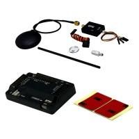 APM2.6 ArduPilot Mega 2.6 APM2.6 Kit with LEA-6H GPS APM Flight Controller & GPS Combo