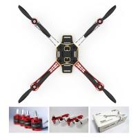 DJI F450 ARF Hexacopter & H3-2D FPV GoPro Gimbal & Naza-M V2 IOSD Mini LK-24BT 2.4G Datalink 16WP & Can Hub Combo