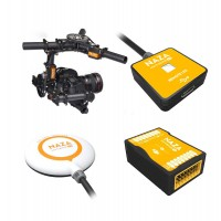 Tarot Multicopter 5D2 3-Axis Camera Mount Tarot TL100AAA + DJI Naza Flight Controller Promotion Combo