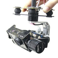 Gopro 1/2/3 Universal FPV Aerial Photography 3-axis Brushless Gimbal Camera Mount PTZ w/Motor & Gimbal Controller