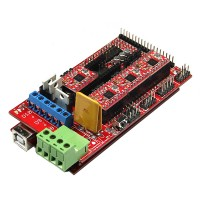 Bargain Sale with free Gift RAMPS 1.4+Iduino Mega 2560+4xA4988 3D Printer Reprap