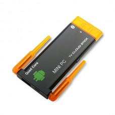 Quad Core RK3188 Dual Wifi Antenna Bluetooth Android 4.2 Dongle Stick Mini PC TV Box