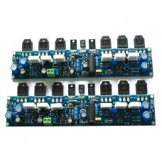 L10-1 class A AB Stereo Power Amplifier kit Assembled Board LJM