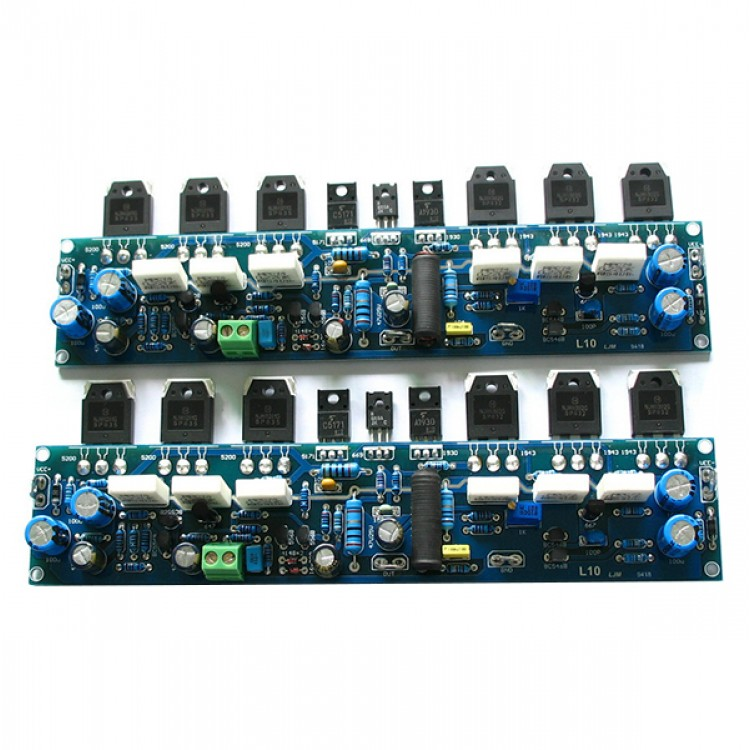 L10-1 class A AB Stereo Power Amplifier kit Assembled Board