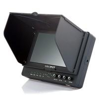 "Lilliput 665/S 7"" 3G-SDI Monitor HDMI/YPbPr/AV/3G-SDI with Advanced Functions for Full HD Camera"