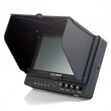 "Lilliput 665/S 7"" 3G-SDI Monitor HDMI/YPbPr/AV/3G-SDI with Advanced Functions for Full HD Camera"