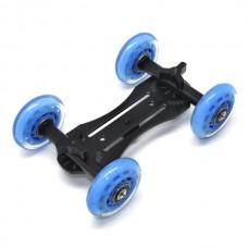 Pro Dolly DSLR Camera Floor Slider Track Talbe Car Video For Canon 5D2
