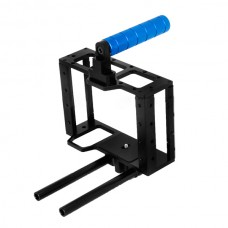 DSLR Rig Cage Baseplate Handle Grip For Tilta Lanparte Follow Focus 5D2 5D3 7D Camera
