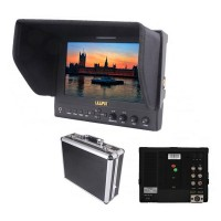 "Lilliput 663/O/P 7"" IPS Field Monitor with Advanced Functions for DSLR & Full HD Camcorder"