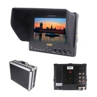 "Lilliput 663/P 7"" FPV Monitor IPS HD Peaking Filter Camera Video Field HDMI LED Monitor for 5D II III Camera"