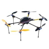 LOTUSRC T700G FPV Foldable Hexacopter ARF Retractable Landing Skid RC Flyer + Flight Controller w/ Motors & ESC Prop